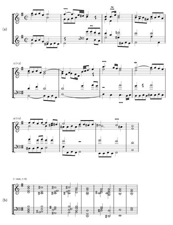 A schenkerian analysis of preludio from